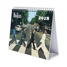 Calendario Sobremesa Deluxe 2018 The Beatles