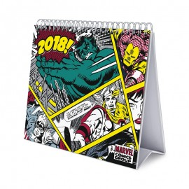 Calendario Sobremesa Deluxe 2018 Marvel Comics
