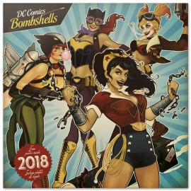 Calendario 2018 30X30 Dc Originals