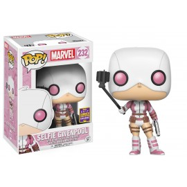 Pop Bobble Marvel Gwenpool W Selfie Stick Sdcc 2017 Exc