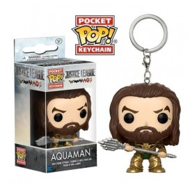 Pop Vinyl Keychain Dc Justice League Aquaman
