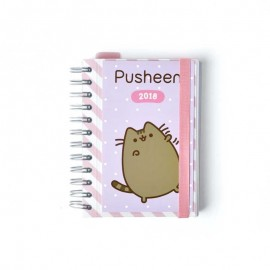 Agenda 2018 Dia Pagina Pusheen The Cat