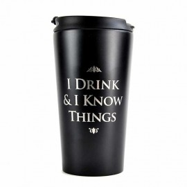 Travel Mug Metallic Game Of Thrones Belongs To King