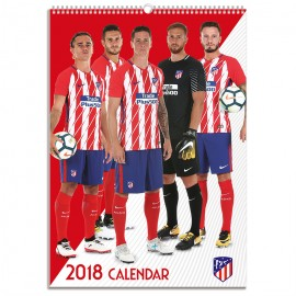 Calendario 2018 A3 Atletico De Madrid