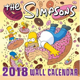 Calendario 2018 30X30 The Simpsons