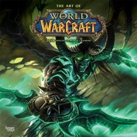 Calendario 2018 30X30 World Of Warcraft