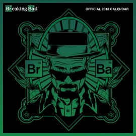 Calendario 2018 30X30 Breaking Bad