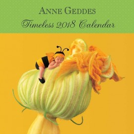 Calendario 2018 30X30 Anne Geddes Timeless