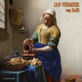 Calendario 2018 30X30 Jan Vermeer Van Delft