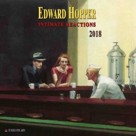 Calendario 2018 30X30 Edward Hopper Intimate Reactions
