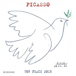 Calendario 2018 30X30 Pablo  Picasso War And Peace