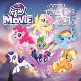 Calendario 2018 30X30 My Little Pony Movie
