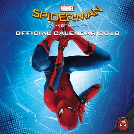 Calendario 2018 30X30 Spiderman Homecoming