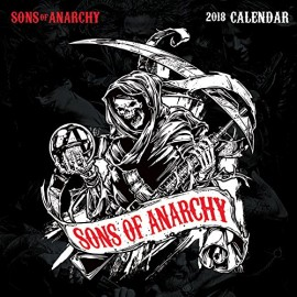 Calendario 2018 30X30 Sons Of Anarchy