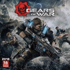 Calendario 2018 30X30 Gears Of War