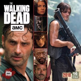 Calendario 2018 30X30 The Walking Dead Amc