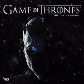 Calendario 2018 30X30 Game Of Thrones
