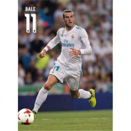 Postal Real Madrid 2017/2018 Bale Accion