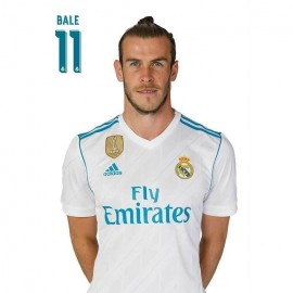 Postal Real Madrid 2017/2018 Bale Busto