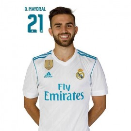 Postal Real Madrid 2017/2018 B. Mayoral Busto