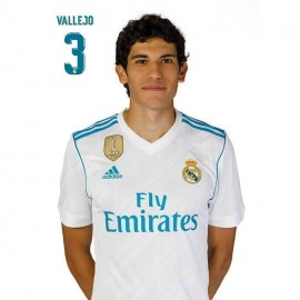 Postal Real Madrid 2017/2018 Vallejo Busto