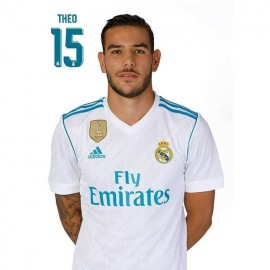 Postal Real Madrid 2017/2018 Theo Busto