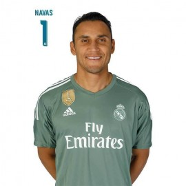 Postal Real Madrid 2017/2018 Navas Busto