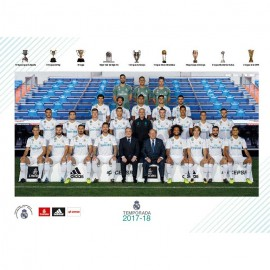 Postal Real Madrid 2017/2018 Plantilla
