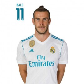 Postal Real Madrid A4 2017/2018 Bale Busto