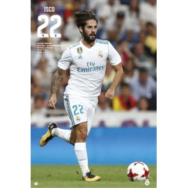 Poster Real Madrid 2017/2018 Isco Accion
