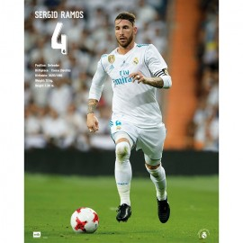 Mini Poster Real Madrid 2017/2018 Sergio Ramos Accion