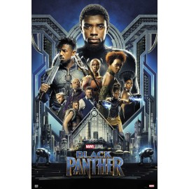 Poster Marvel Black Panther Onesheet