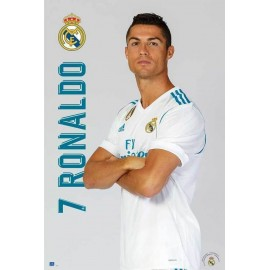 Poster Real Madrid 2017/2018 Ronaldo Pose