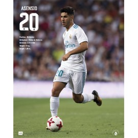 Mini Poster Real Madrid 2017/2018 Asensio Accion