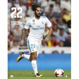 Mini Poster Real Madrid 2017/2018 Isco Accion
