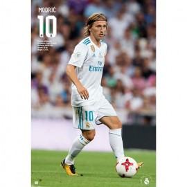 Poster Real Madrid 2017/2018 Modric Accion