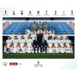 Mini Poster Real Madrid 2017/2018 Plantilla