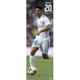 Poster Puerta Real Madrid 2017/2018 Asensio