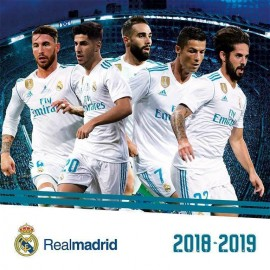 Calendario 2018-2019 30X30 Real Madrid