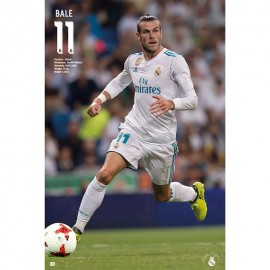 Poster Real Madrid 2017/2018 Bale Accion