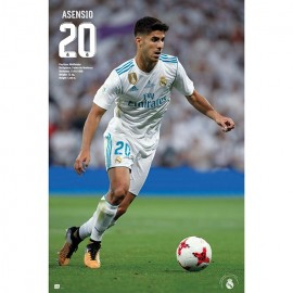 Poster Real Madrid 2017/2018 Asensio Accion