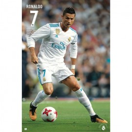 Poster Real Madrid 2017/2018 Ronaldo Accion