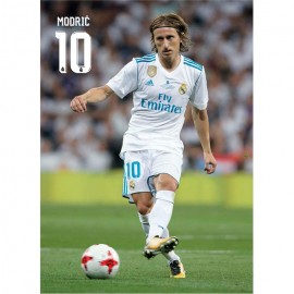Postal Real Madrid 2017/2018 Modric Accion