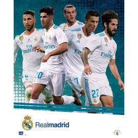 Mini Poster Real Madrid 2017/2018 Grupo Accion