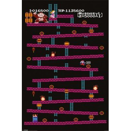 Poster Donkey Kong (Nes)