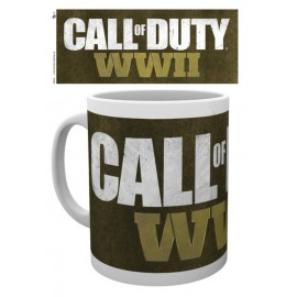 Taza Mug Call Of Duty WWII Logo