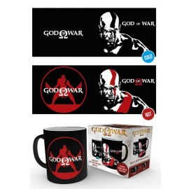 Taza Mug Heat Changing God Of War Kratos