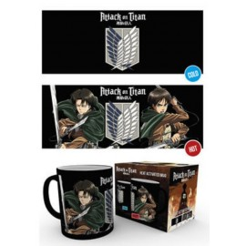 Taza Mug Heat Changing Attack On Titan Scouts