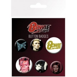Pack Badges David Bowie Mix