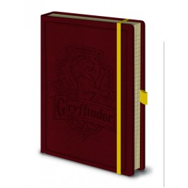 Notebook A5 Premium Harry Potter Gryffindor